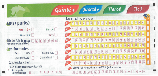 ticket quinté+